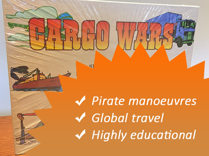 Cargo Wars - Strategy Board Game slider pic 1